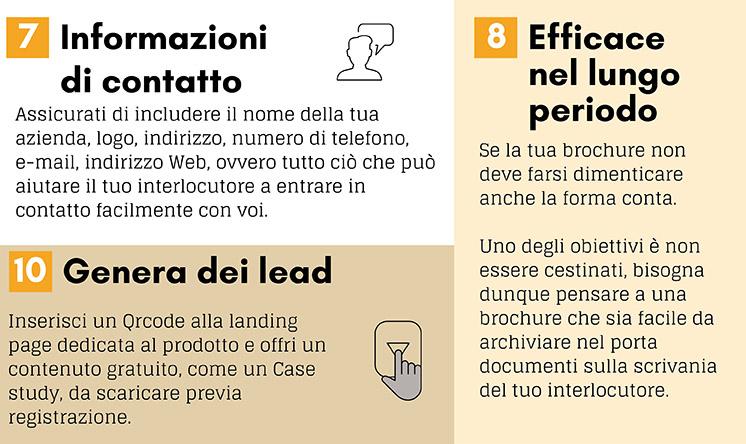 10 elementi brochure B2B immagine