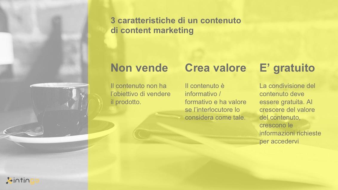 content marketing cos'è